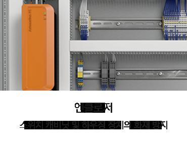 루벤 씰링 응용제품, 엔클로저 스위치 캐비닛 및 하우징 장치의 화재 방지