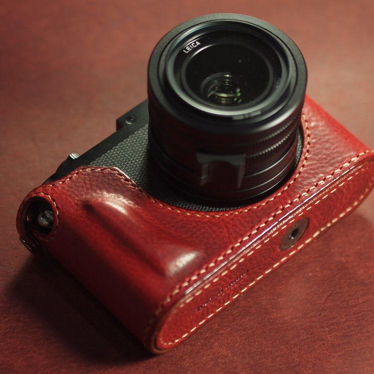 Leica Q2 half case (Design Pre-view & Pre-Order) : LEICA CASES & STRAPS by  handcraft - Arte di mano