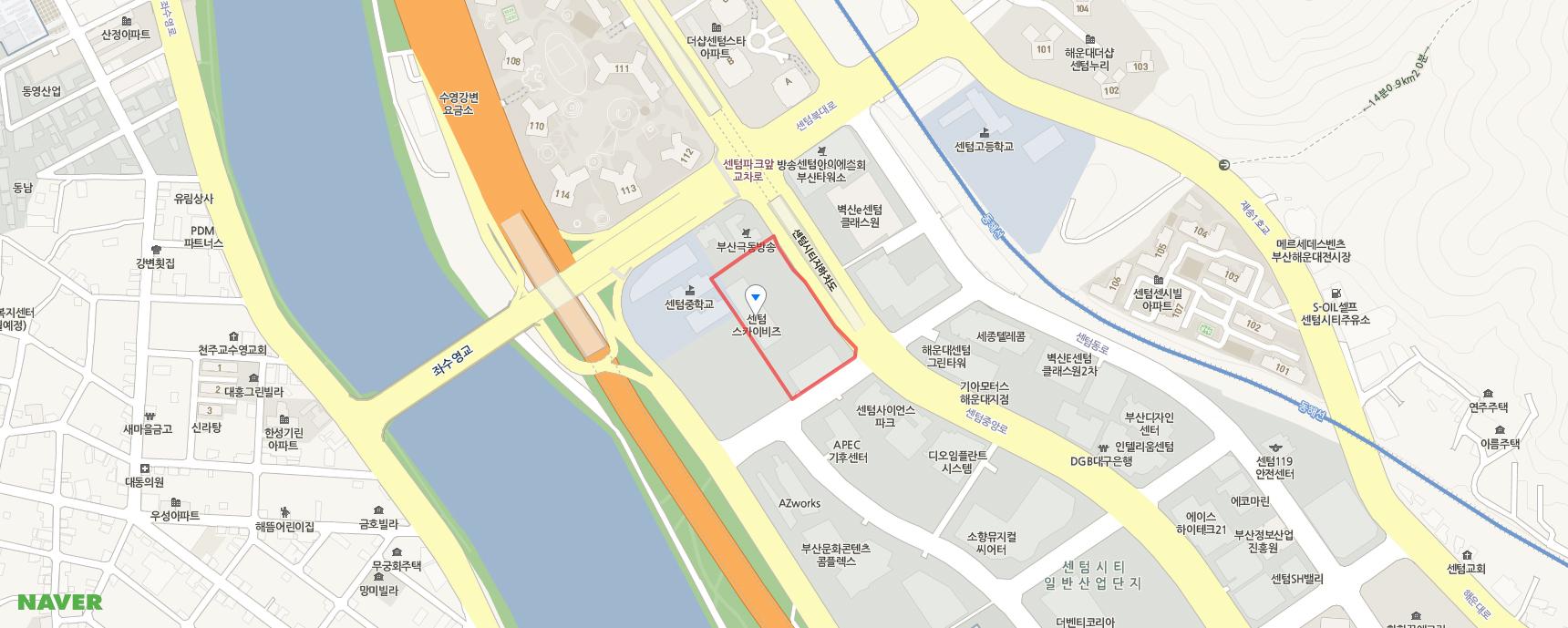 부산광역시 해운대구 센텀중앙로 97 센텀스카이비즈 A동 2310호