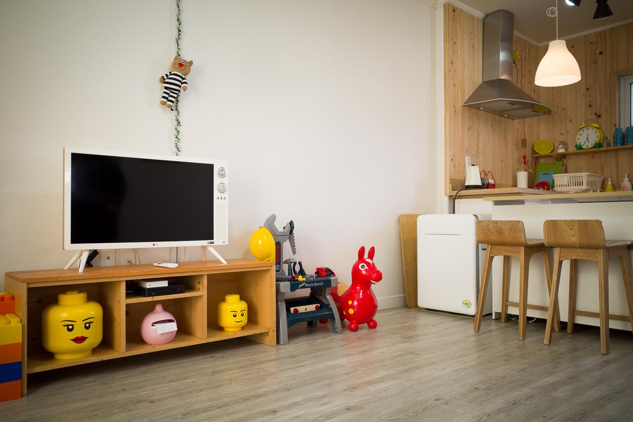 거실과 주방의 이미지입니다.