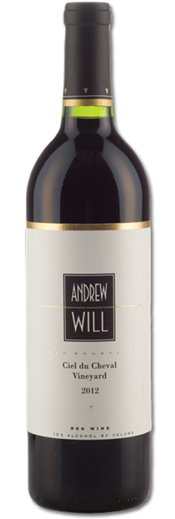 2012 Andrew Will, Ciel du Cheval Vineyard