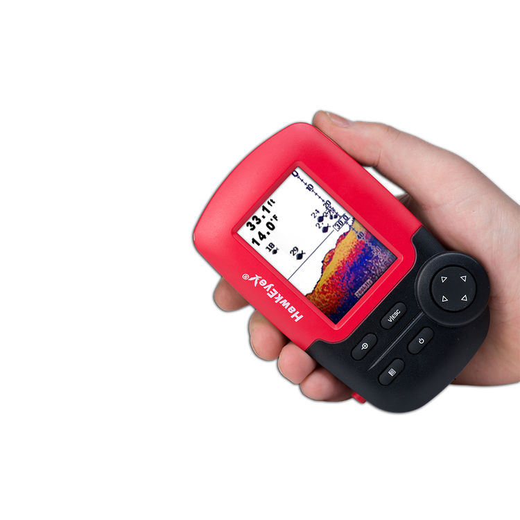 HawkEye Fishtrax 1C Virtuview HD Color Display Fish Finder Portable on