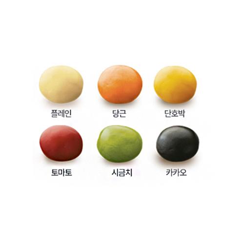 토이쿠기 만들기-6가지 천연색 도우