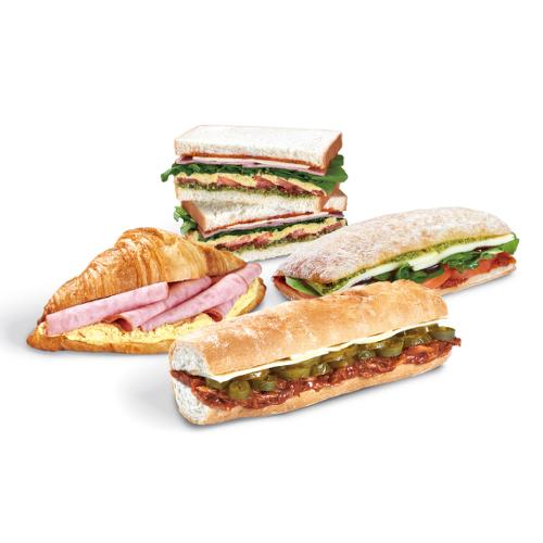 샌드위치-콜드 샌드위치, 핫 샌드위치