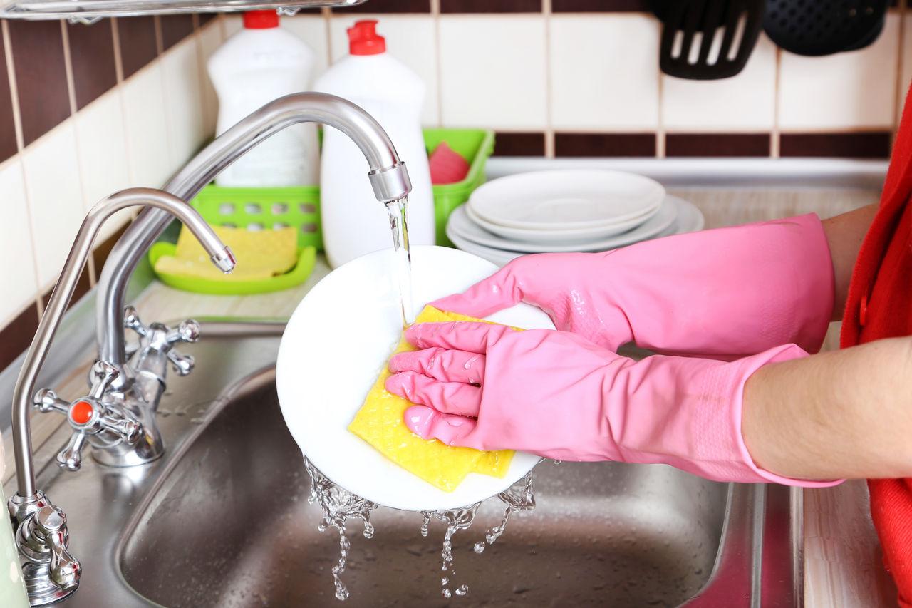 가정의 설거지