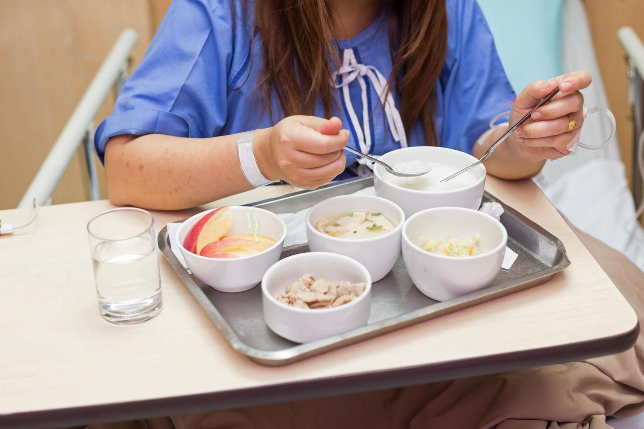 병원, 요양원 등 환자들을 위한 먹거리