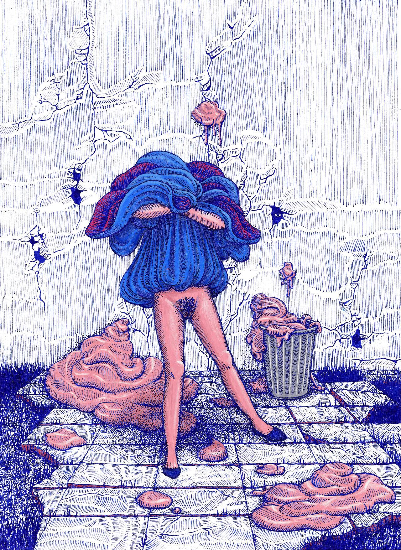 blue, 2019