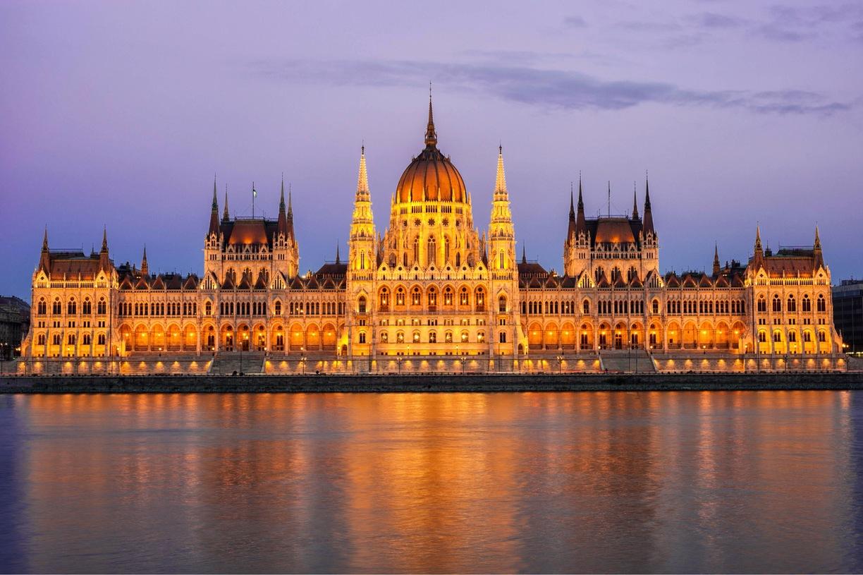 국회의사당의 야경