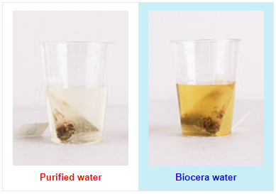 Biocera Water Cluster Test