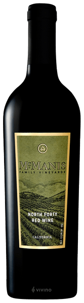 2017 McManis North Forty Red Wine