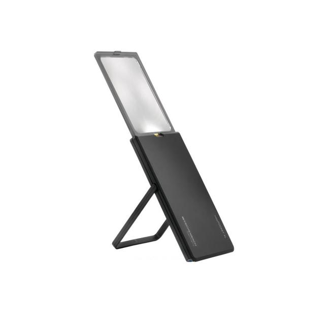 easy pocket XL (2.5x)를 지지대를 사용해 세운 상태    *지지대는 XL제품에만 적용됩니다.
