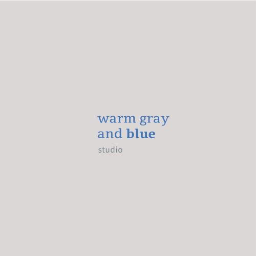 웜그레이앤블루 (warm gray and blue)