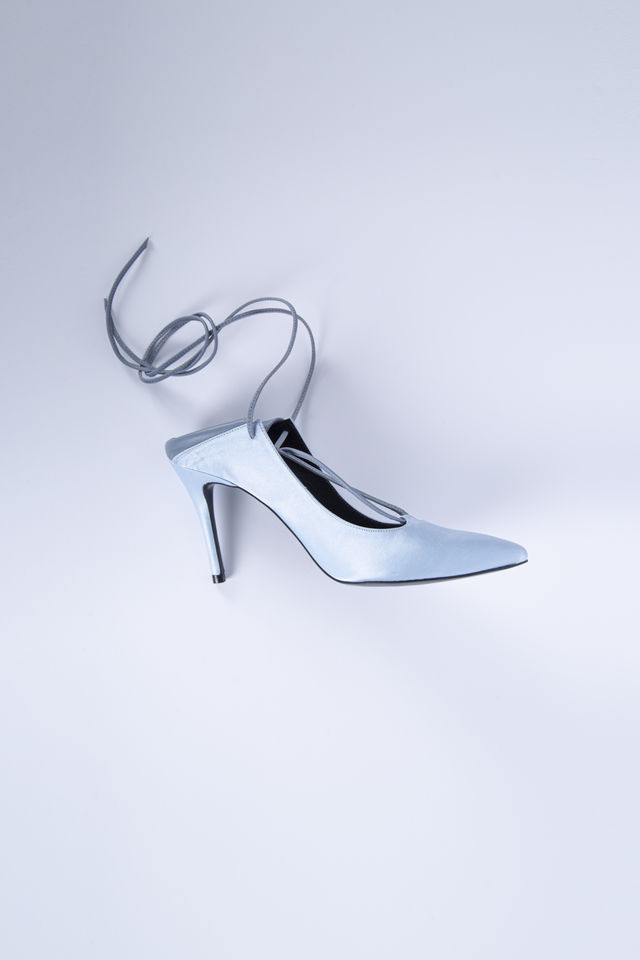 ITALY BOX COW LEATHER SQAURED HEEL SANDALS 70 WITH ADJUSTABLE STRAP KRW 268,000