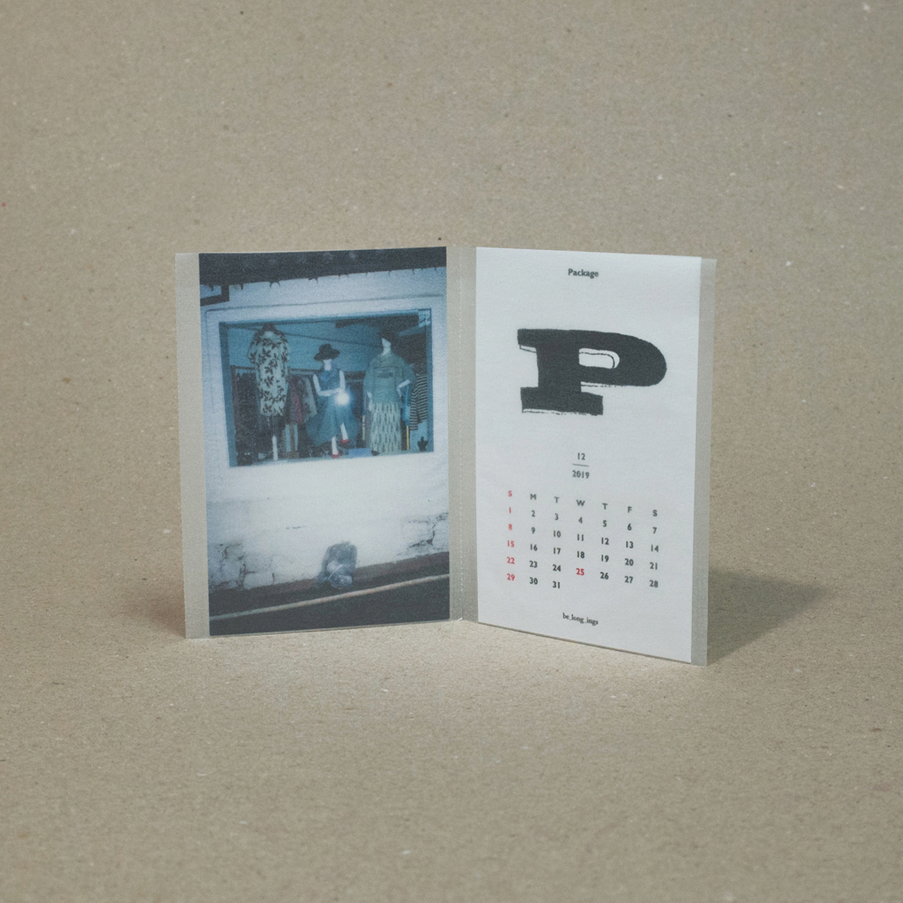 A Piece_ 84 x 114mm  / A Spread_170 x 114mm, Mojo 220g with Powder paper