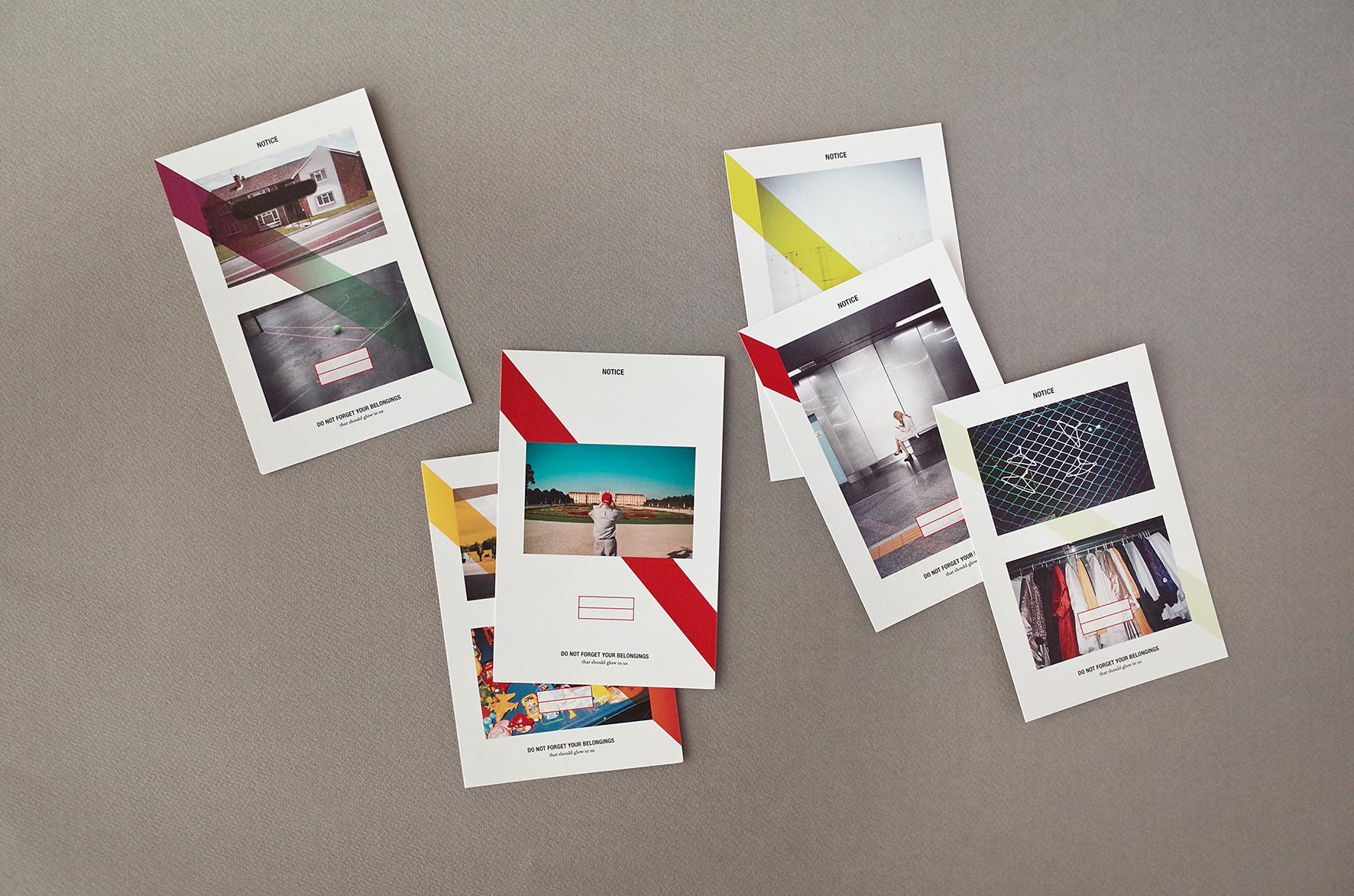 6 Postcards / 100 X 150mm /  Montblanc White, 240g