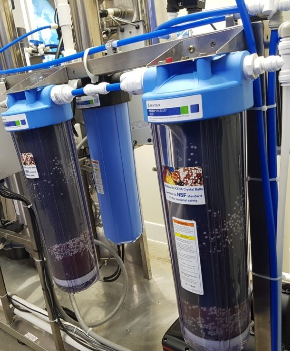Biocera ceramic balls can be applied to water store applications