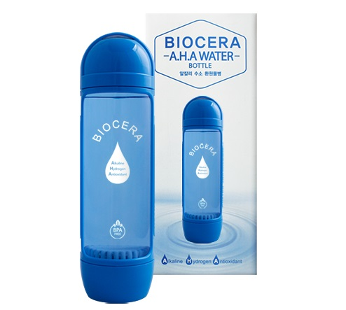 Portable Biocera A.H.A water bottle