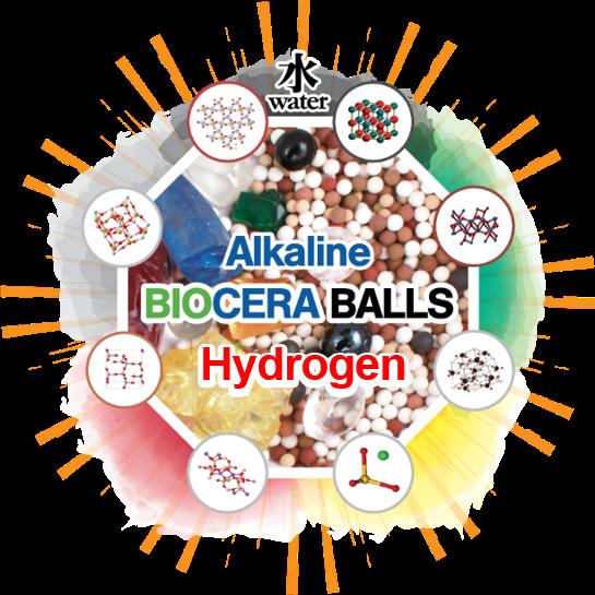 five color therapy biocera balls
