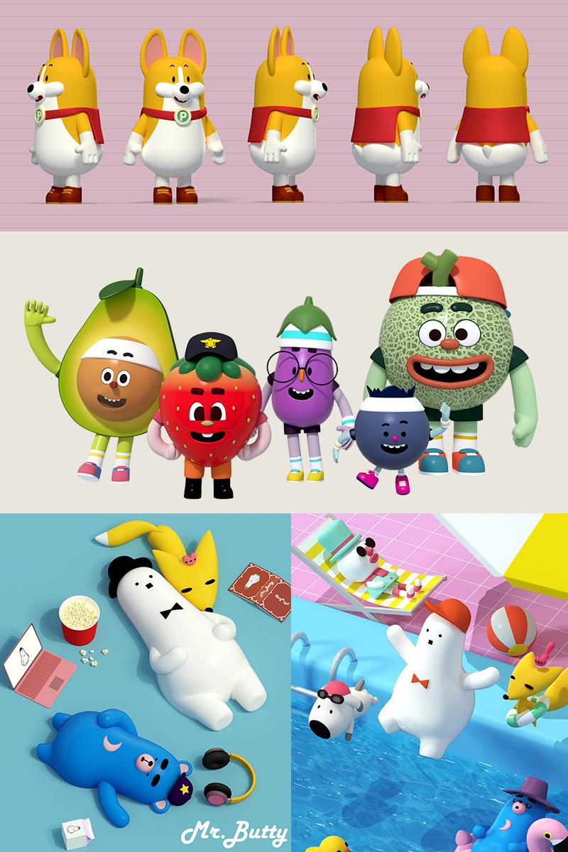 캐릭터 및 애니메이션 / 스튜디오 아라핀 입니다 - 외주수주 - CGlink : 5370c8630c666.png