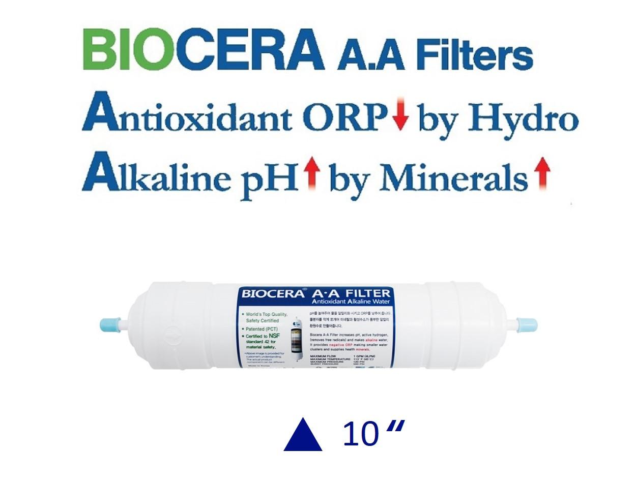 Biocera Antioxidant Alkaline 10 inch water filter