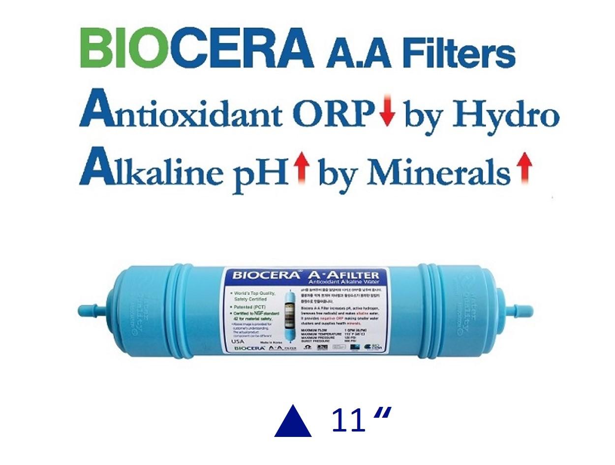 Biocera Antioxidant Alkaline 11 inch water filter