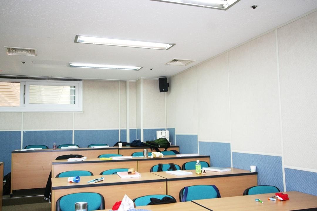 사무실 / 교실 흡음·방음공사