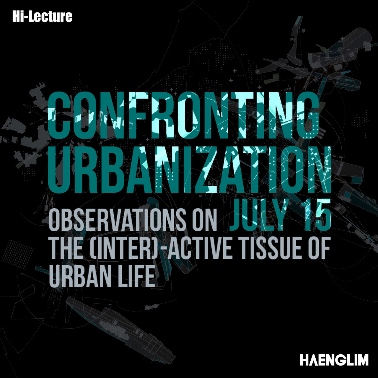 <p><strong><font size='2'>Hi-Lecture 2019<p>Petra Kempf (PhD, Professor,  Washington University in St.Louis Sam Fox School)</font><br><font size='5'>Confronting Urbanization observations on the (inter)-active tissue of urban life</font>