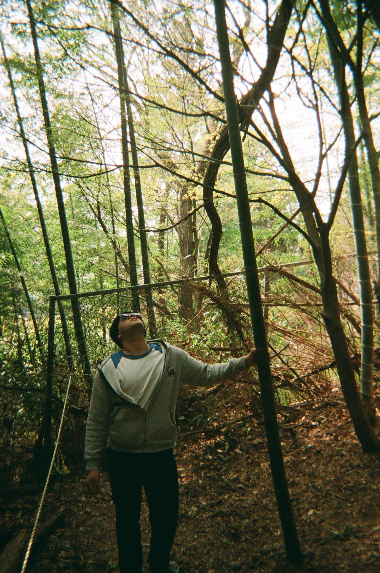 """""""대나무숲에서의 시간이 정말 즐거웠습니다. 나무 사이로 뛰어다니고, 동영상도 찍고요."""" - Nick"""