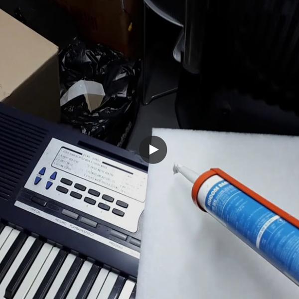 [영상 자료] 어느 40대 부부의 아날로그 감성 - 녹음실 만들려고 셀프 방음공사 (차음재+흡음재)