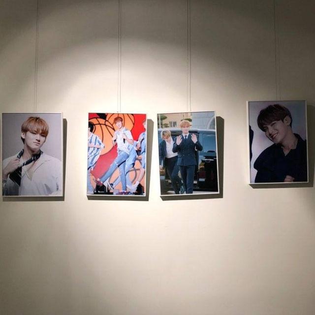 세븐틴 멤버 민규 생일 기념 전시회(2019.03.30)