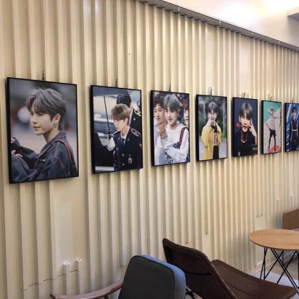 더보이즈 멤버 활 생일 기념 전시회(2019.03.09-10)