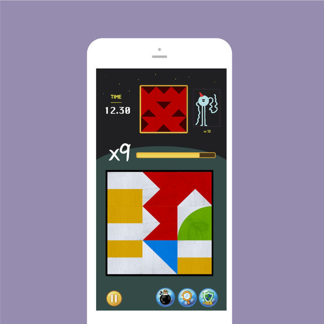 Mobile puzzle game