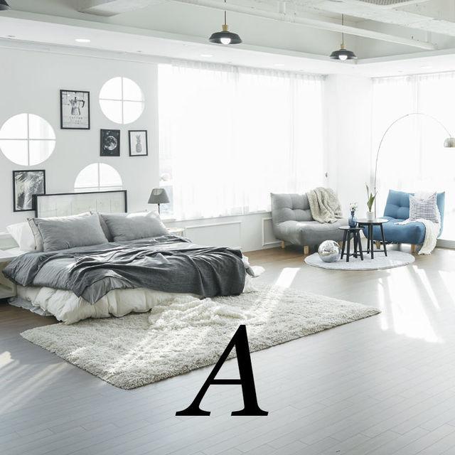 <b>A Room [9F] </b><br>거실&서재 스타일