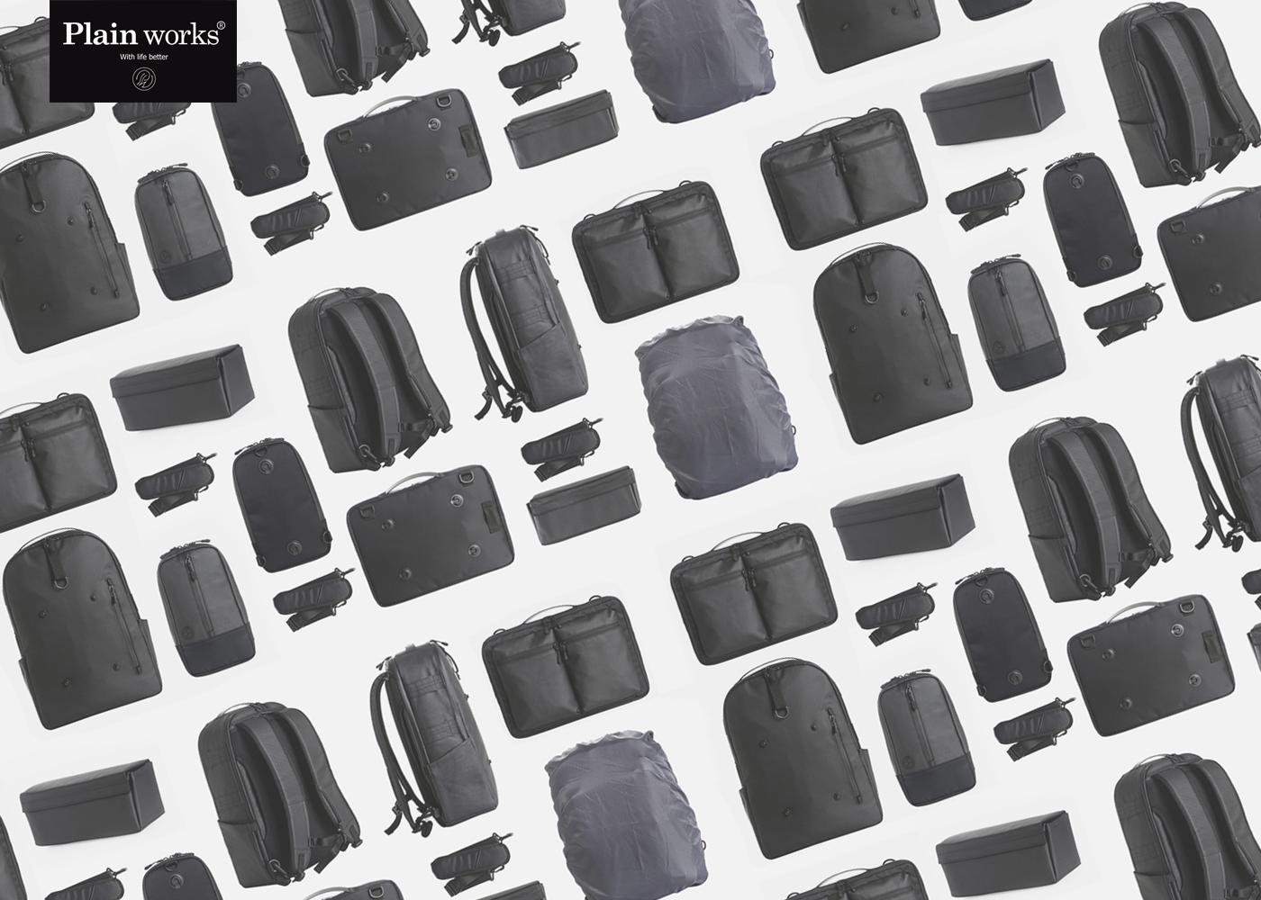 테크니컬 가방 전문 브랜드 플레인웍스 입니다.