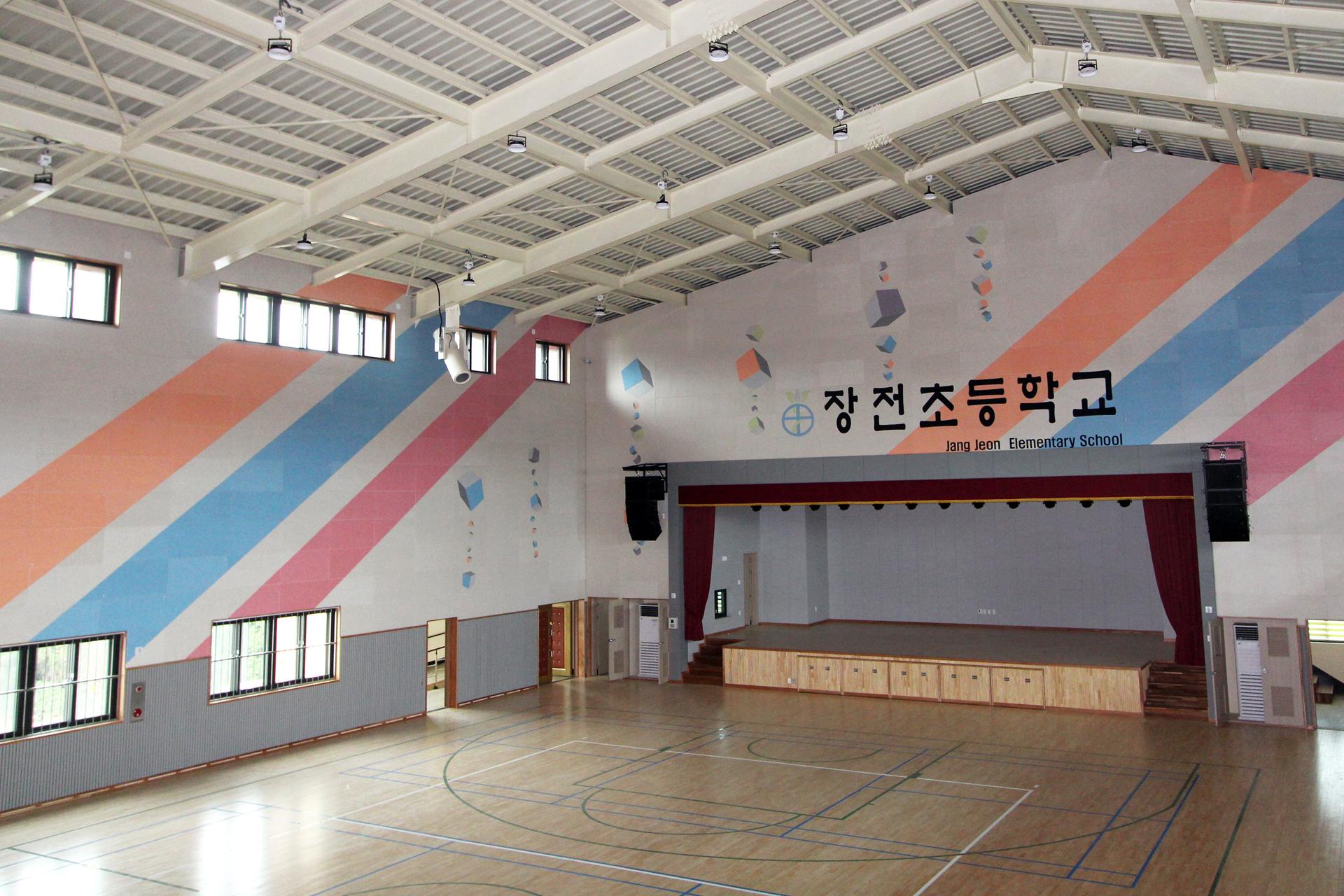 흡음재 시공 공사 - 경기도 용인시 남사스포츠센터 스피닝룸