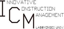 ICM Lab. 건설혁신관리연구실 | Yonsei Univ.