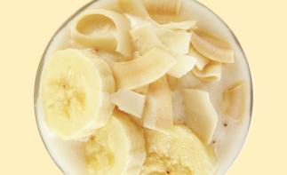 코코넛 바나나 스무디
