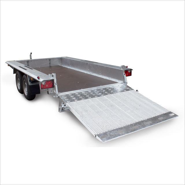 BUILDER - 토목 공학, 건축 및 플랜트 기계 운송에 가장 적합한 대형 트레일러 시리즈.