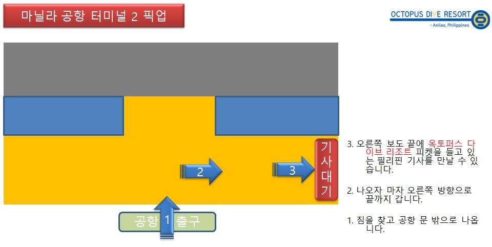 2터미널 픽업 방법