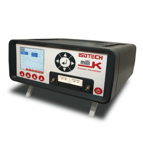 milliK 표준 온도계 +/- 0.003℃의 정화도, SPRT, HCT, 모든 종류의 온도 센서 연결이 가능한 장점