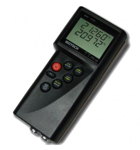 휴대용 온도 측정 인디케이터 TTI-10, 최대 10mK 정확도 구현. Dryblock과 함께 사용하기 적합.