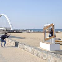 강문 해변