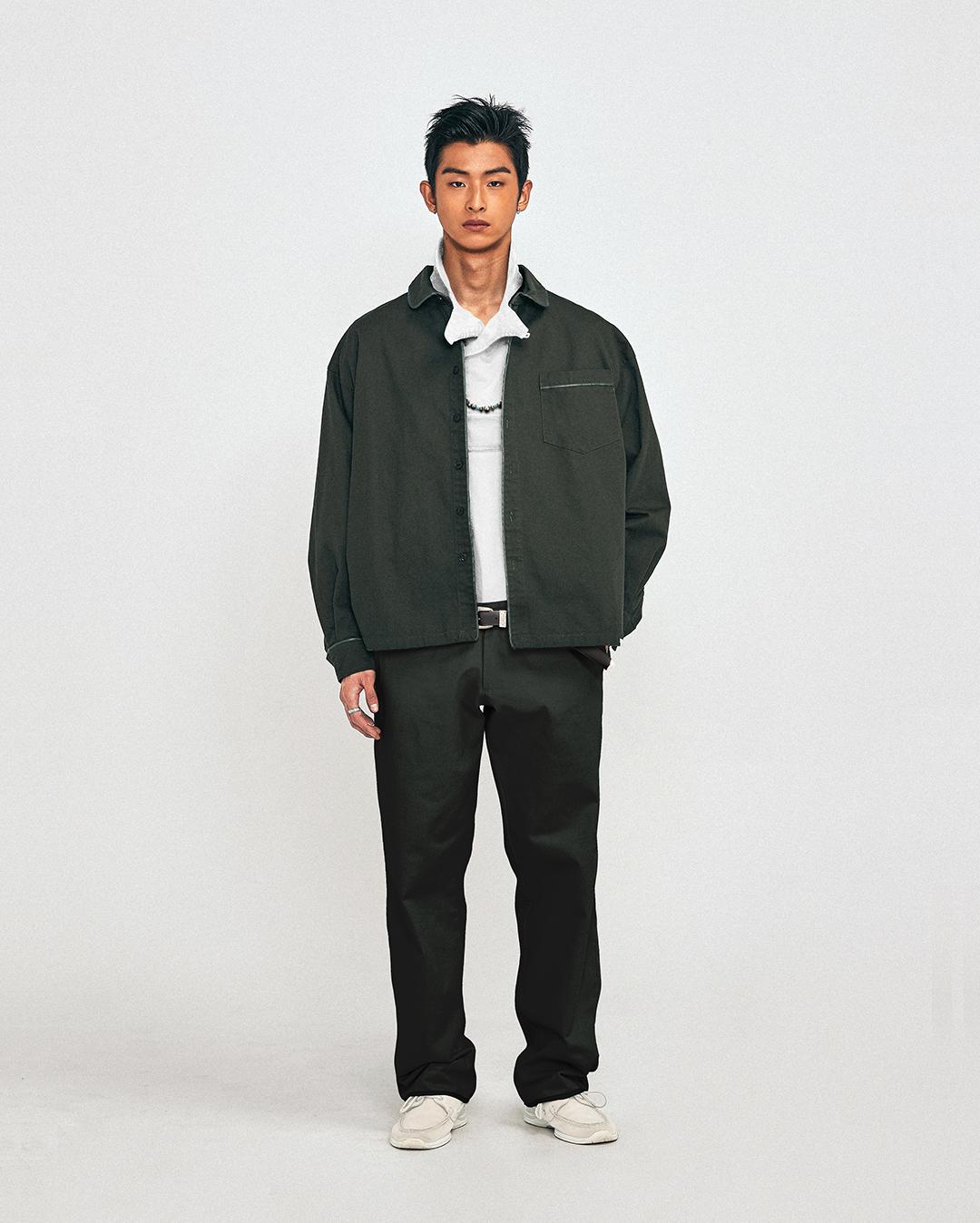 레이시소 whiptale shirt jacket