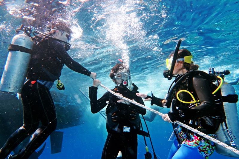 오키나와 다이빙 교육 PADI 오픈워터 다이버 과정