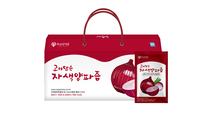 "<span style=""font-size:14px; color:red; font-weight:bold;"" >NEW </span>고이담은 자색양파즙<br><span style=""font-size:13px"">100% 국내산 자색양파와 아로니아, 사과농축액을 더하다</span>"