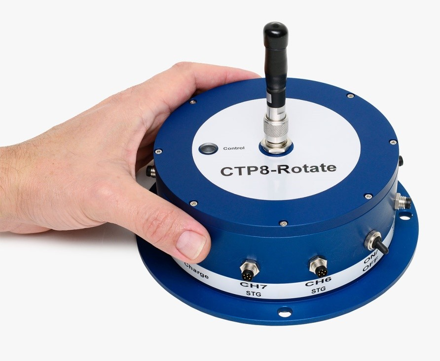 imc CTP rotate 최대 64 채널의 회전 어플리케이션을 위한 고속 무선 원격 측정