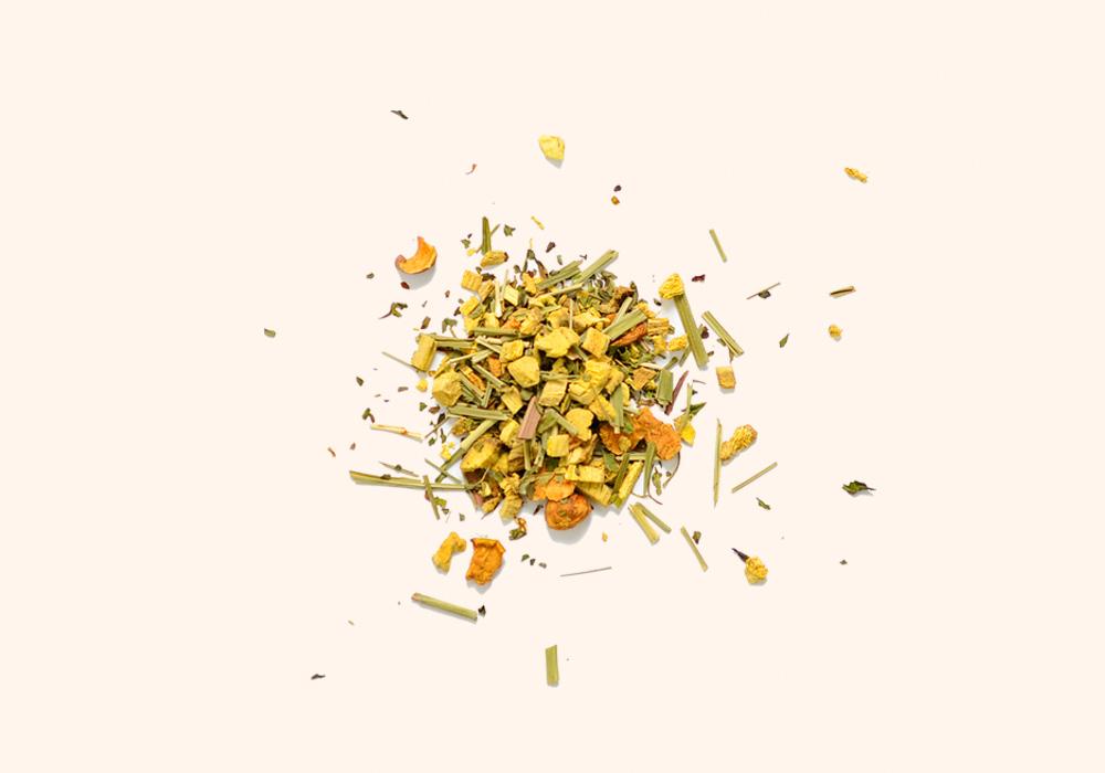 감초와 사과의 단 맛, 페퍼민트와 레몬그라스의 싱그러운 향을 지닌 쿨허벌