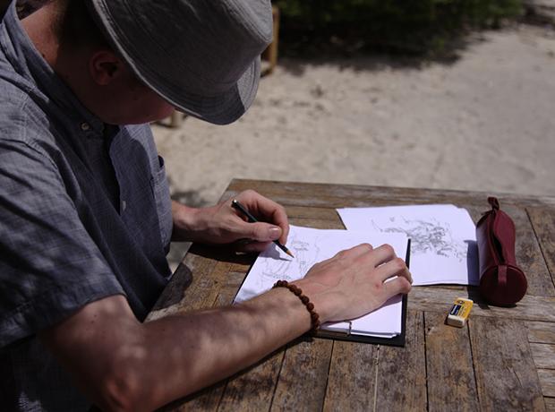 세계지도 브랜드 어썸맵스 서핑 지도 스케치