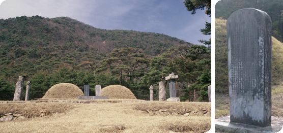 고청 서기의 묘소