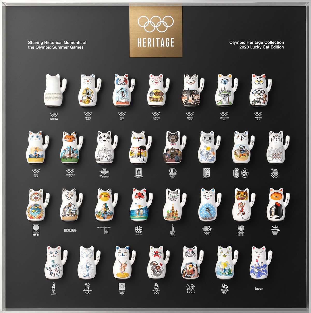 オリンピック 招き猫 ラッキーキャット 東京2020